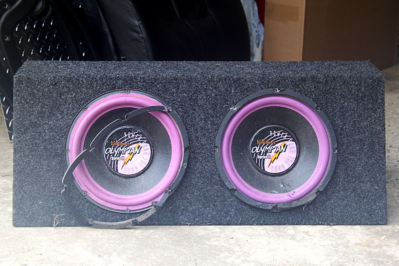 Hifonics Olympian Series II car subs | Audiokarma Home Audio Stereo