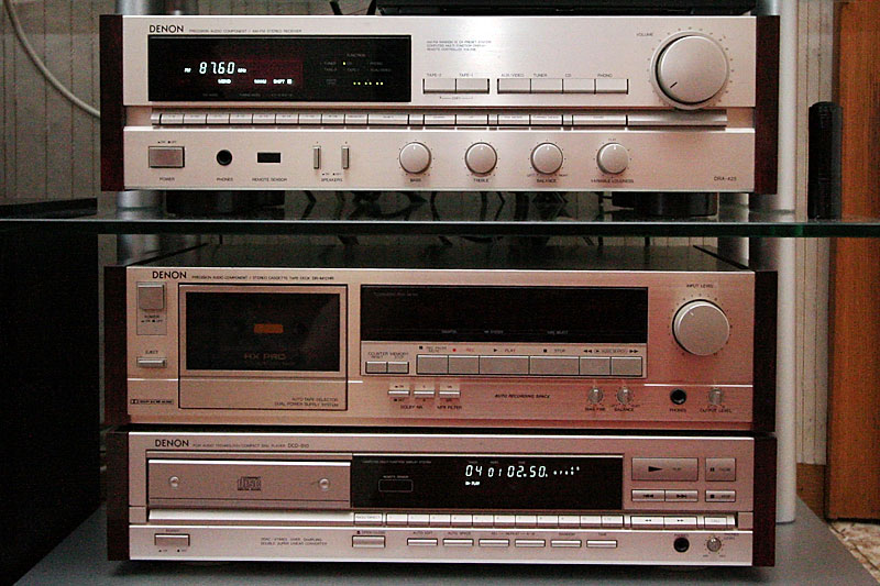 My first stereo system