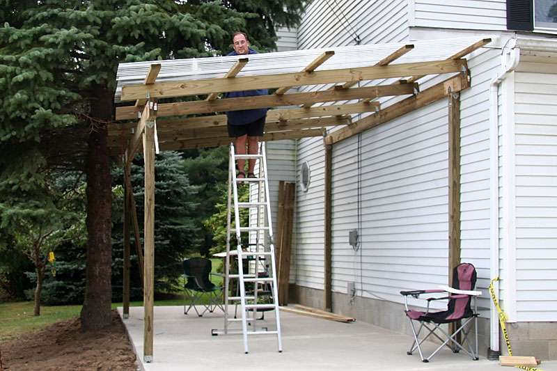 Fmueller Com 187 How To Built A Carport